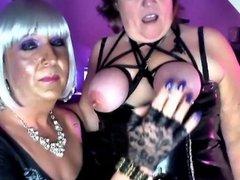 Mistress Chrissie Plays with Katrinas pt4