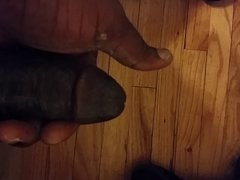 Dick in hand