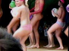 Massive teen ass shake jiggle humiliation boobs