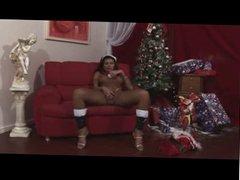 Shemale christmas play solo