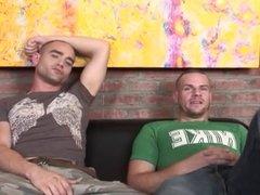 Straight guys get creampies - 1 - scene 1