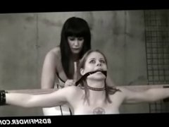 Femdom Lesbian Strap Whip And Toy