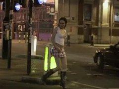 British girl Tyrelle Jorj gets a DP