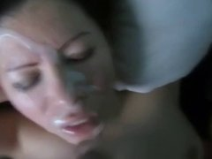 Cum load to the face