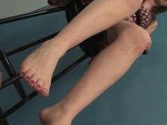 Nude Lesbian Foot Worship