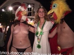 raw girls gone naked on the streets of key west florida for