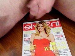 Heidi klum cum magazine