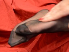 Feet in Nylon - Video 10
