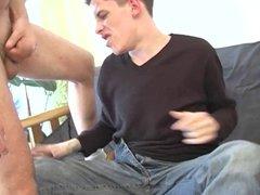 skinny guy sucks and gets fucked