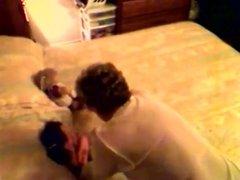 I R granny on hidden cam