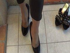 Sky pant & heels