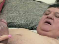 Old Men YOUNG Teens Hardcore Blowjob Cumshot Compilation