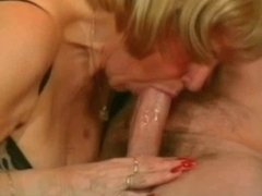 My Sexy Piercings - pierced granny in lingerie riding cock