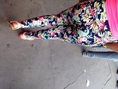 Culito leggins florido