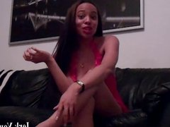 Squeeze out a big load for your ebony mistress JOI