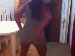 Slutty Teen Dance With NO PANTIES