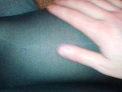Rubbing Wife's Legs