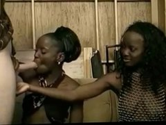 Double Ebony BJ's (Compilation) Part 2