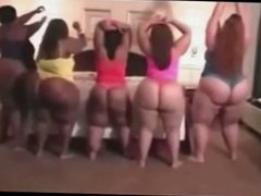 Three BBW & Two SSBBW Shaking their Big Butts!!!