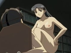 Hentai femdom: teacher her young virgin student
