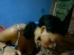 Brasil-Favela girl suck deep and fuck for money.