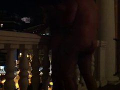 MILFY fucking on balcony