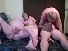 Bisex 3 daddys and blondie woman