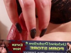 UNP031-Cum Dropping Claws- Hand and Nails Male Masturbation