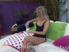 Alana Luv Cums with a Rabbit Vibrator