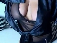 Teasing video with a hot BBW MILF