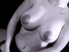 LET'S SPEND THE NIGHT TOGETHER- vintage big boobs striptease