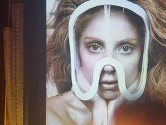 Lady Gaga cum tribute 2