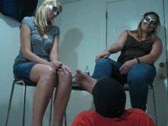 Slave lick 2 mistress dirty foot