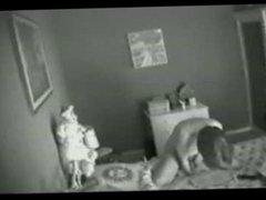 Hidden camera - the lady resting then masturbates (old rec)