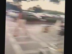 Phat Assed White BBW Leaving Walmart