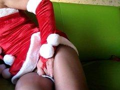 Amateur 63 years old Married Santa Claus  love pantyhose