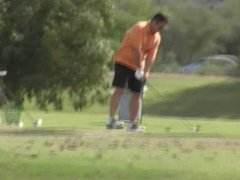 redhead ashley gracie flashing nude at public golf course