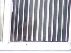 hidden mast through window (look closely)