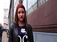 Slutty redhead reporter Ann