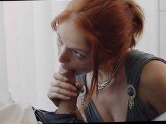 Redhead Blonde FMF Suck Fuck