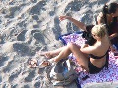 Summer Beach Voyeur - Busty Girl #1