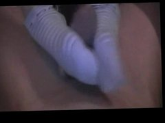 German Girl like Sockjob-Footjob 4