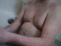bad man bathing