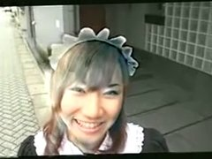 Yuri Manaka - Maid Cosplay and Creampie