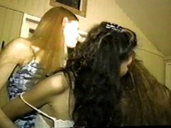 All Girl Slumber Party (lesbian groupsex)
