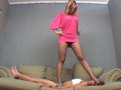 Brazilian Lesbian Trampling