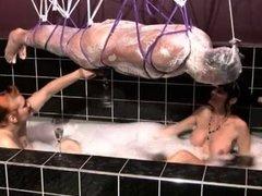 mistress in bath