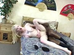 Pale Blond Gets Rough Pounding From BBC