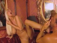 Big tits blonde Kathleen White gets a good fucking