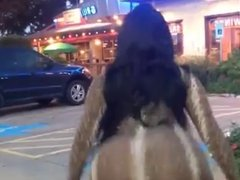Compilation of Big Booties Clapping in Dresses